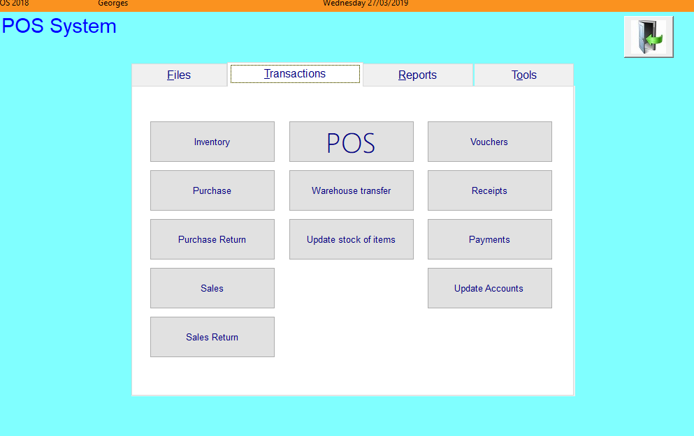 Transactions SwitchBoard